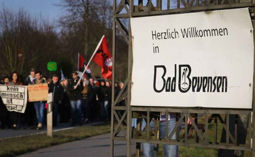 "Bad Bevensen: Demonstration ""Rassismus bekämpfen – Refugees welcome!"""
